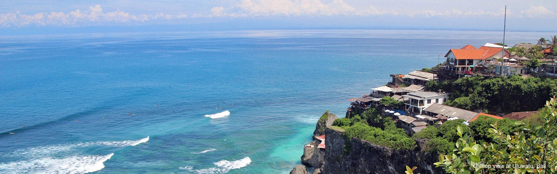 Uluwatu clifftop view, Bali