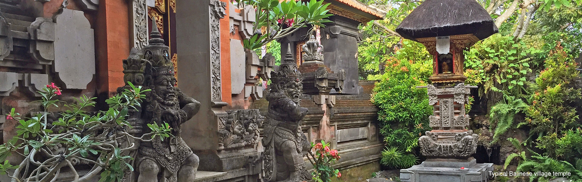 A typical Balinese village temple
