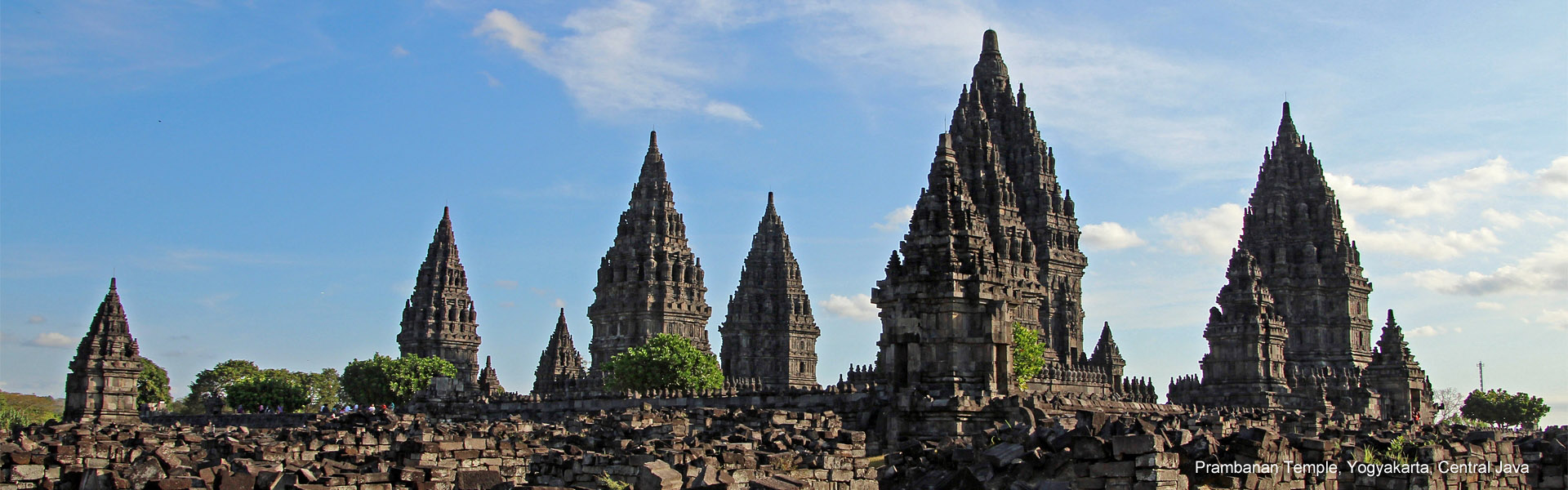 The ancient wonder of Prambanan Temple, Yogyakarta, Central Java