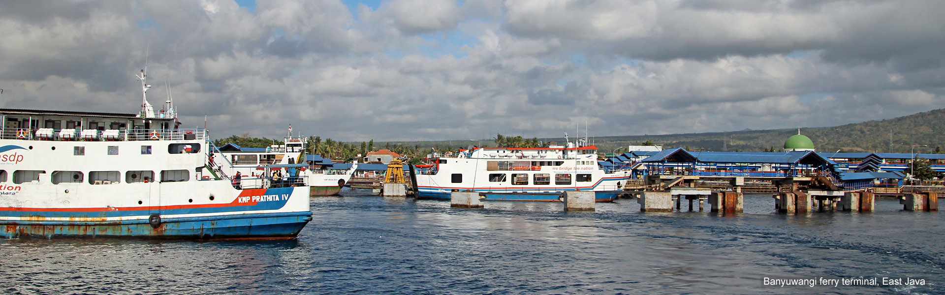 Banyuwangi ferry terminal, East Java
