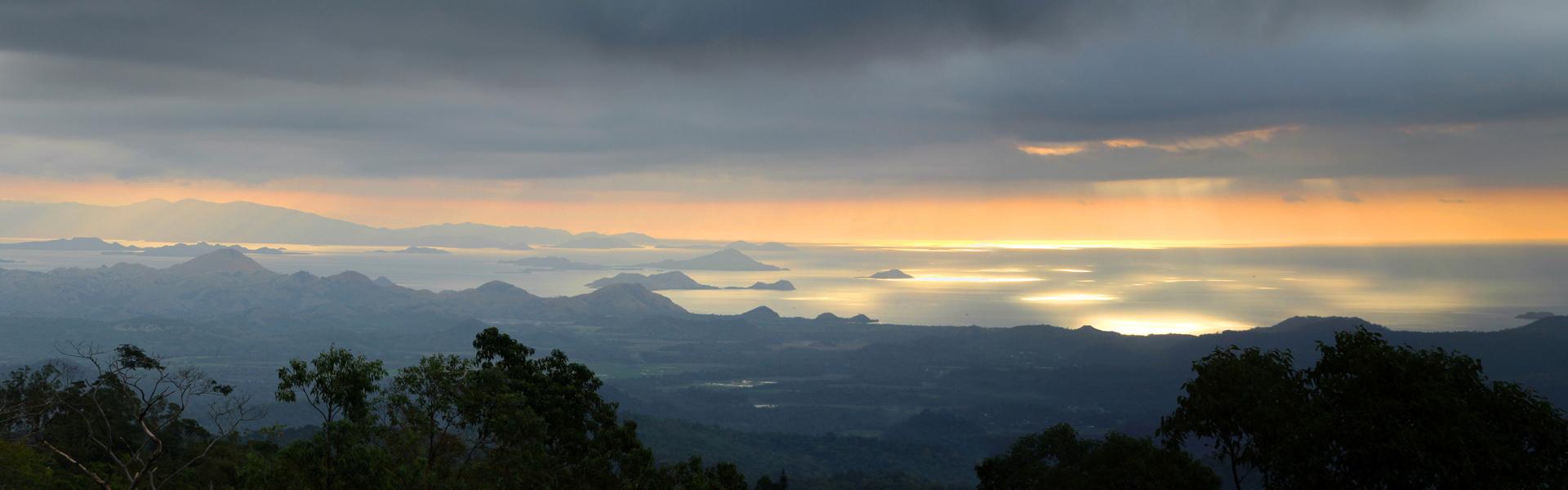 Sunset over the Komodo National Park, Indonesia